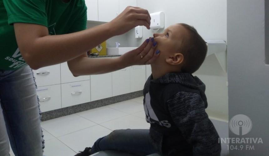 Reta final: 15% das crianças ainda não foram vacinadas contra a poliomielite em Capitão