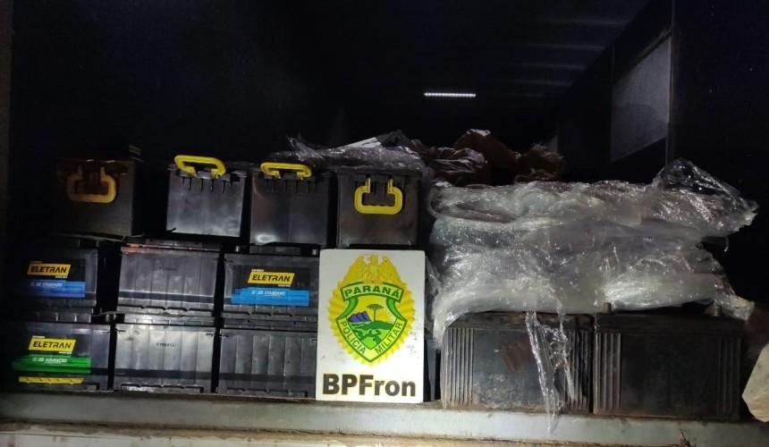 Patrulha Rural e BPFron apreendem baterias da Argentina