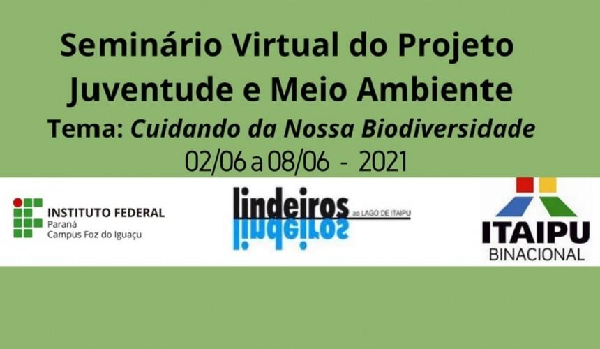 Em parceria com Capitão, Itaipu lança seminário virtual que busca discutir relação entre o jovem e o Meio ambiente