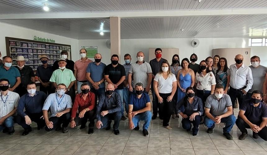 Claudio Zeni é empossado presidente do Sindicato dos Trabalhadores Rurais