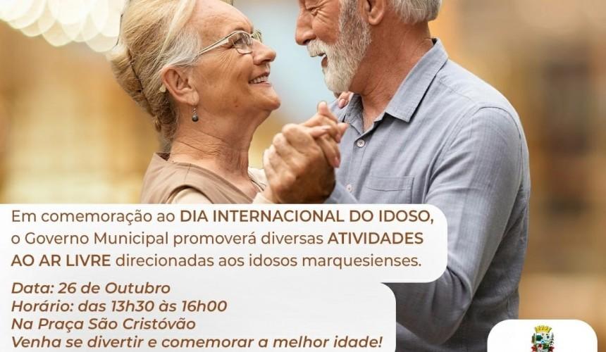 Atividades do dia Internacional do Idoso serão realizadas em Capitão