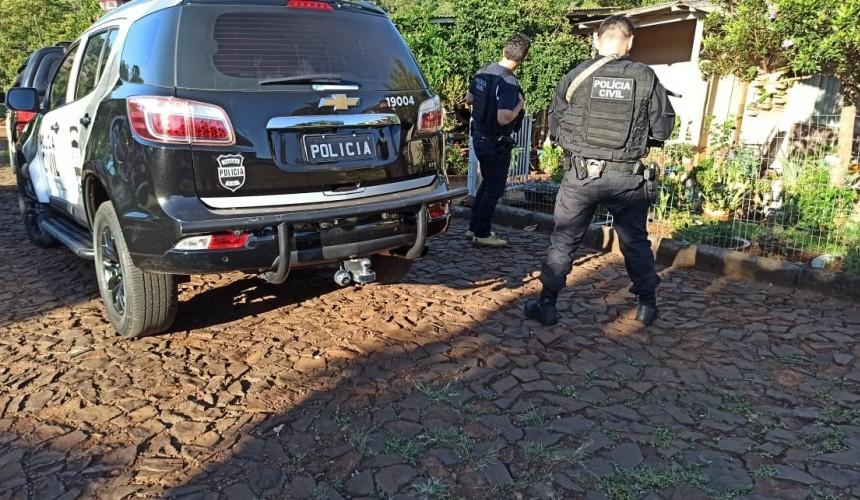 Policia Civil de Capanema cumpre mandados de busca e prisão