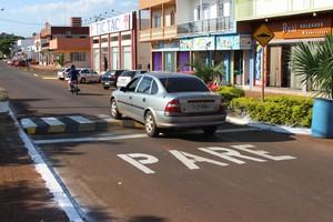 Avenida Iguaçu em Nova Prata passa por revitalização