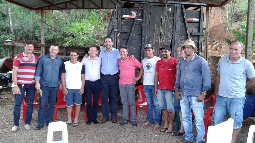 Deputados Lemos e Verri se prometem colocar em pauta em Brasília a situação dos atingidos pelo Baixo Iguaçu e do Hospital Nossa Senhora Aparecida
