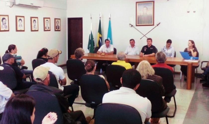 Prefeitura de Capitão Leônidas Marques e Cohapar discutem novos projetos habitacionais para o município