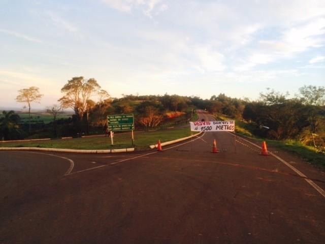 Desvio da PR 180 causa prejuízos na cidade de Boa Vista