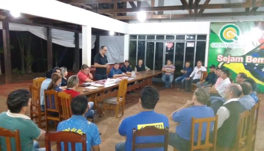 Reunião em Capitão define equipes para organização da festa em prol do Hospital