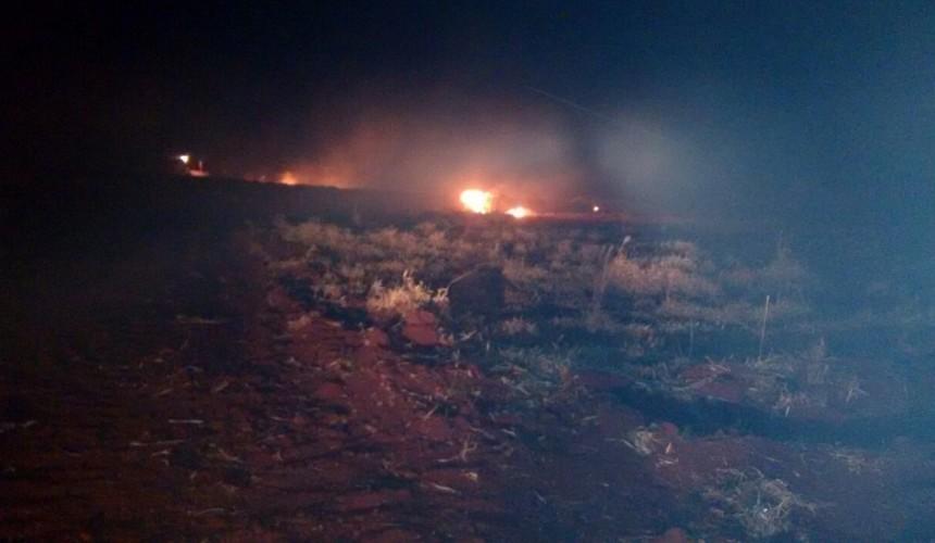 Incêndio ambiental em Lindoeste é controlado pelos Bombeiros de Capitão