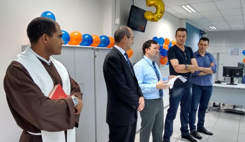 Caixa Econômica comemora 5 anos em Capitão
