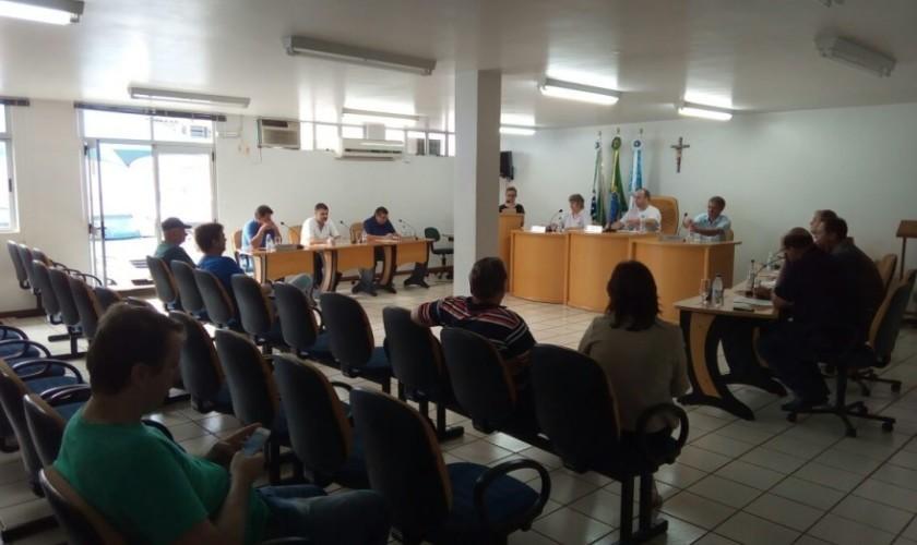 Câmara de Vereadores de Capitão realizou quatro sessões extraordinárias nessa semana
