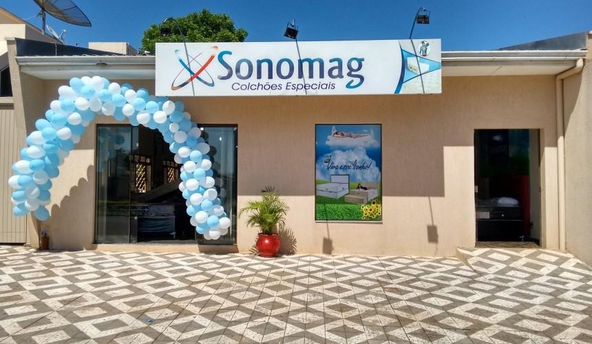 Inaugurada a Loja Sonomag Colchoes em Capitão