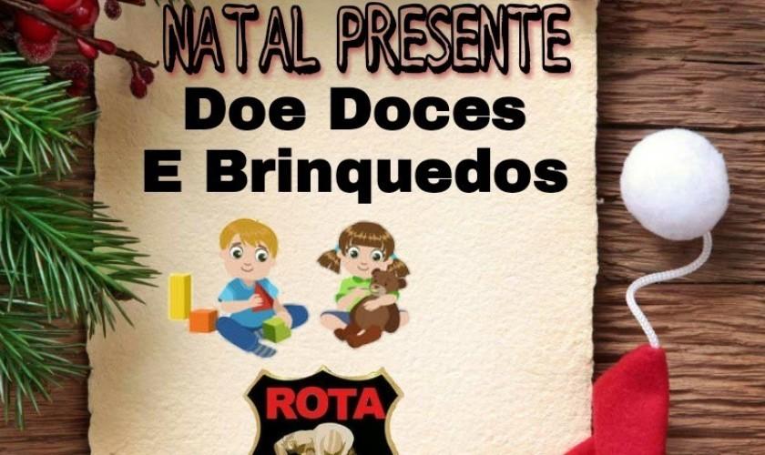 Campanha do grupo Rota Sertaneja vai doar doces e presentes para crianças de Capitão