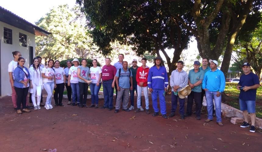 Capitão faz semana de arrastão para remover criadouros de dengue