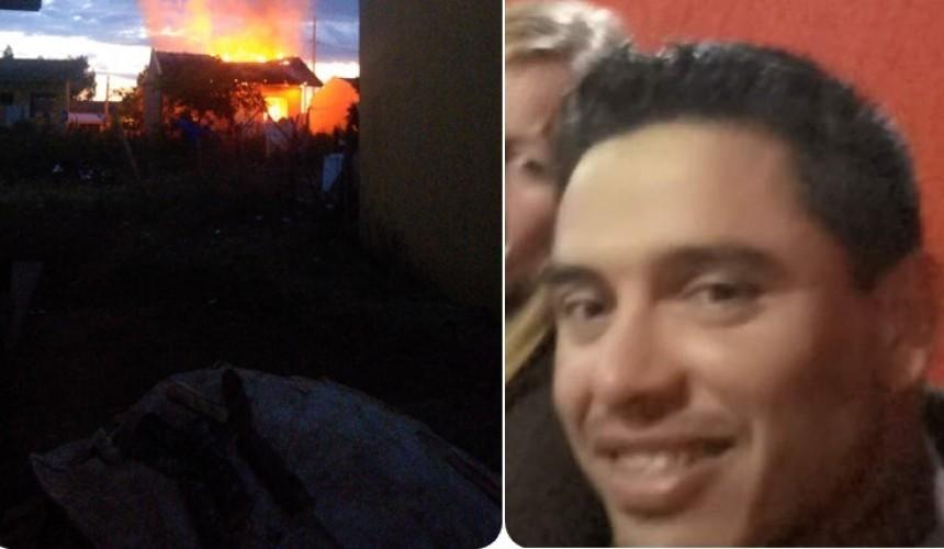 Homem é morto a tiros e na sequência casa do suspeito é incendiada, em Clevelândia