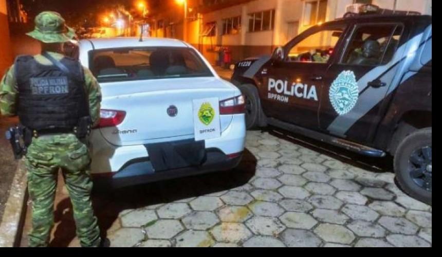 Na separação mulher recebe carro furtado do ex-companheiro em Foz do Iguaçu