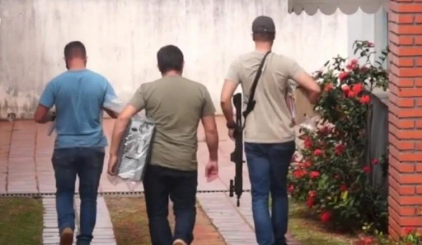 Operação Gaeco: material apreendido em Boa Vista da Aparecida chega a Cascavel