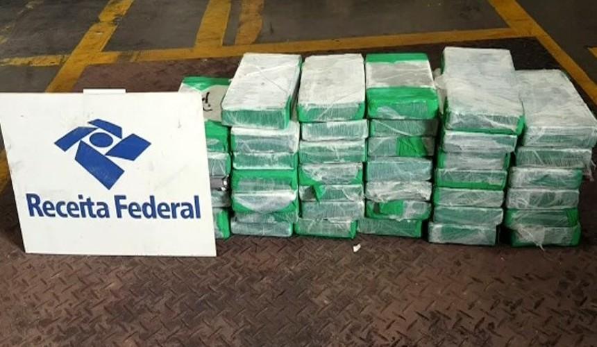 42 kg de cocaína são apreendidos no Porto de Paranaguá