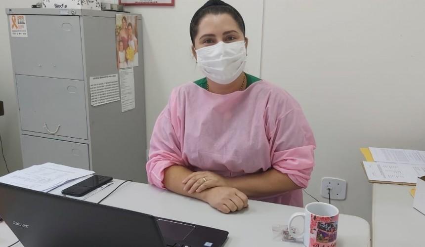 ENTREVISTA: No dia Internacional da Enfermagem, a enfermeira Andreia Calgaro fala sobre a profissão