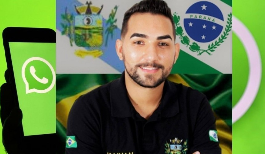 Vereador de Três Barras do Paraná tem WhatsApp clonado