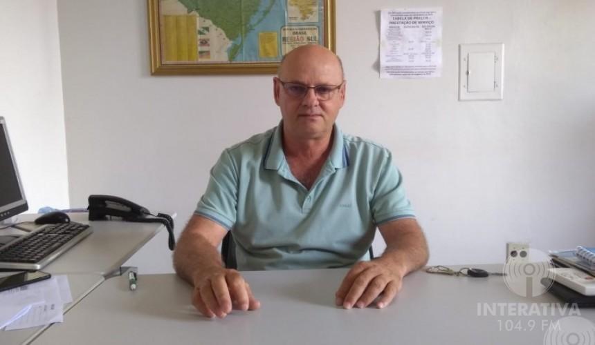Claudio Zeni é candidato a reeleição do STR de Capitão