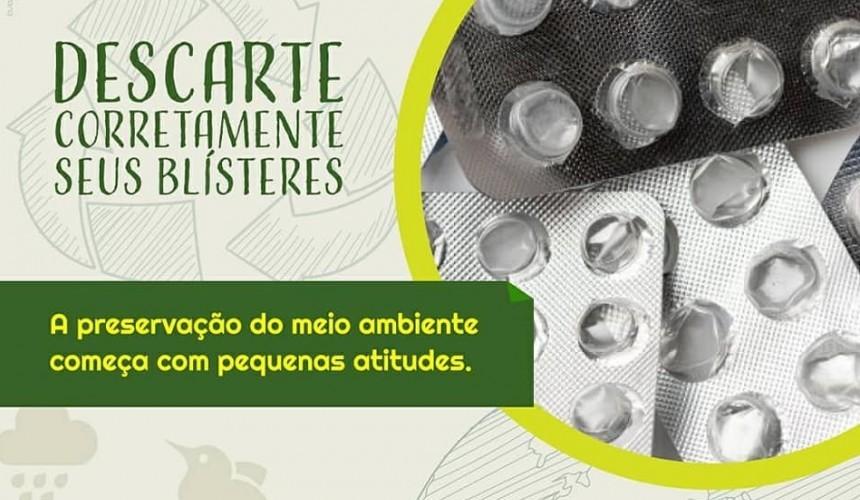 Lions Clube e Secretaria de Saúde lançam campanha de recolhimento de cartelas de medicamentos usados