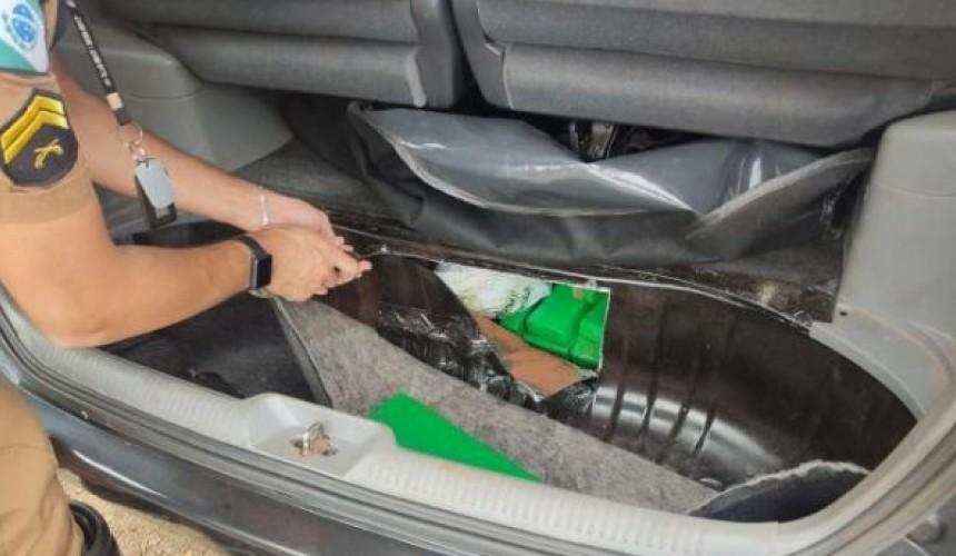 Dois homens são detidos com cerca de 100 kg de maconha, em Realeza
