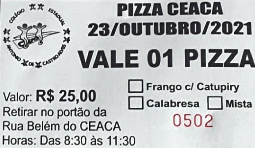 Colégio Castro Alves de Capitão promove vendas de pizzas neste sábado