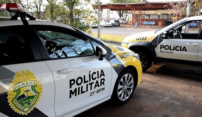 Polícia Militar de Barracão recupera veículo furtado e prende homem por receptação