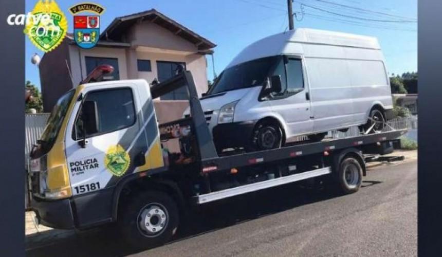 Três jovens são detidos suspeitos de assalto na BR 373 em Coronel Vivida