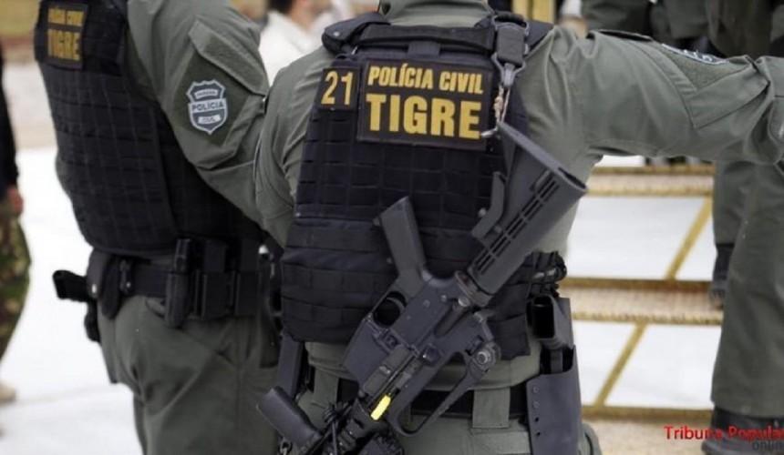 Tigre prende três sequestradores e resgatam a vítima do cativeiro em Foz