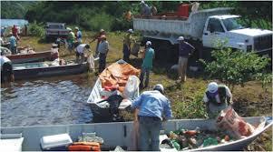 Operação Lago Limpo será realizada no lago de Salto Caxias