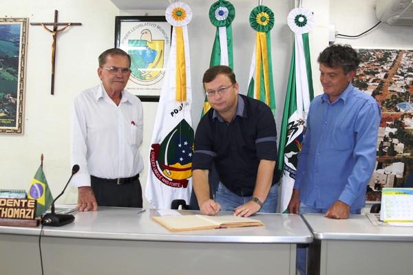 Sassá reassume o Executivo de Nova Prata do Iguaçu