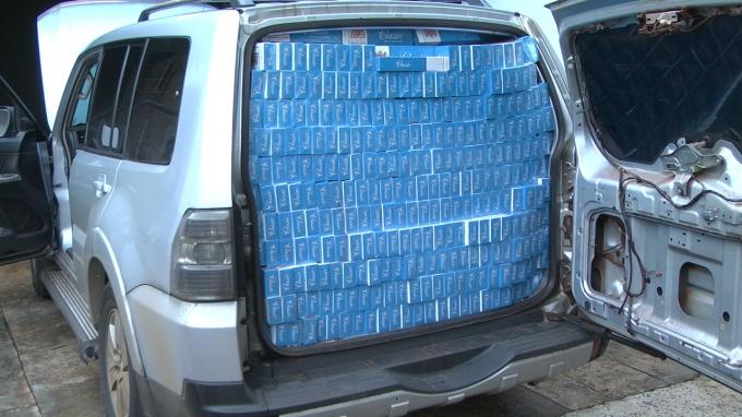 Policiais rodoviários federais apreendem 40 caixas de cigarros em Realeza