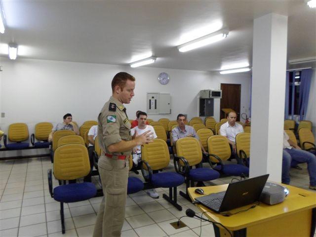 Município de Capitão cobrará taxa de combate à incêndio