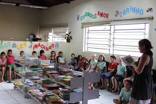 Projeto de incentivo à leitura é implantado pela Secretaria de Educação de Nova Prata
