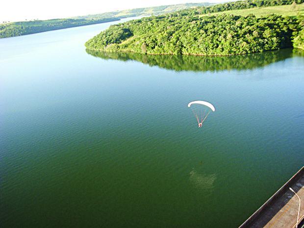 Mutirão vai limpar o lago de Salto Caxias em maio