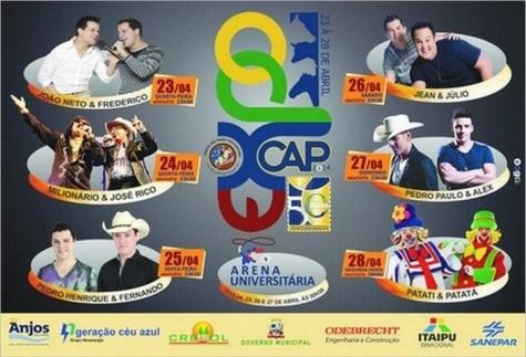 Tribunal de Justiça autoriza realização da ExpoCap