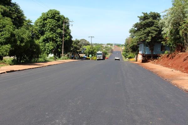 Asfaltamento de ruas em Nova Prata do Iguaçu é comemorado por moradores